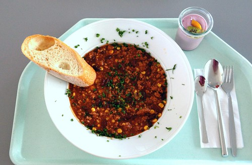 Chili con Carne & Baguette | by JaBB