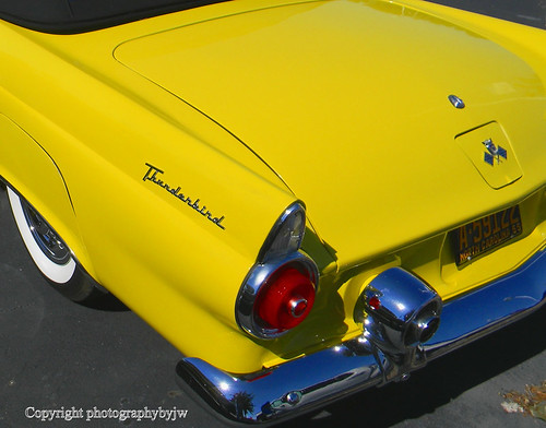 1955 Thunderbird Convertible in Yellow | by Photographybyjw