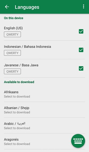 Aplikasi Swiftkey | by BangDude1