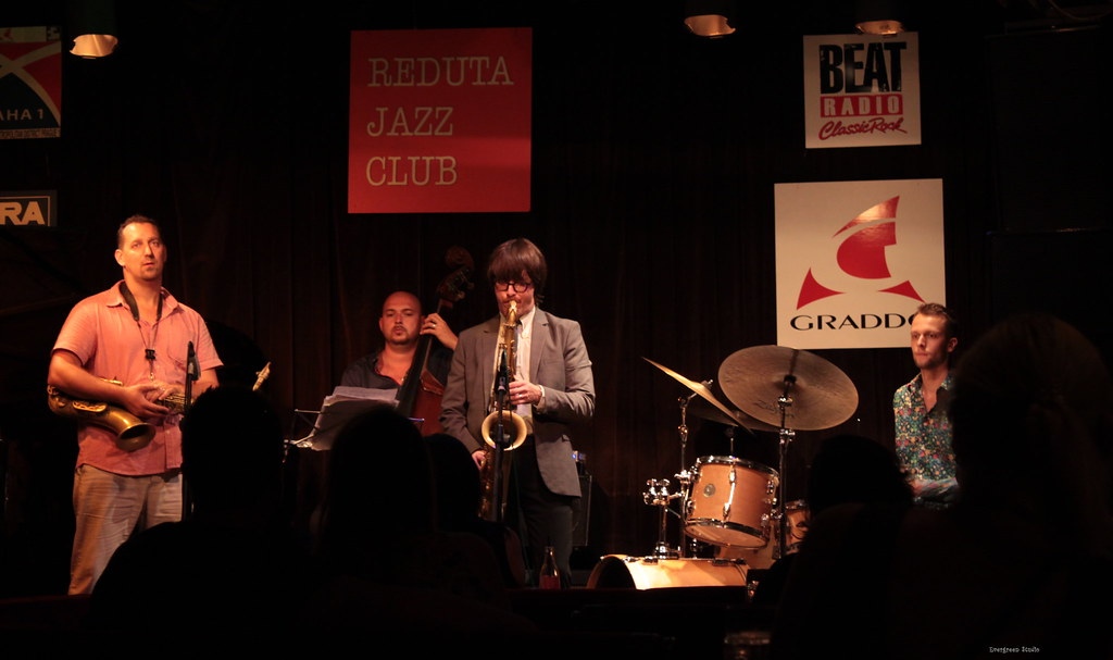 Jazz in Prague #reduta #prague #tenorbattle