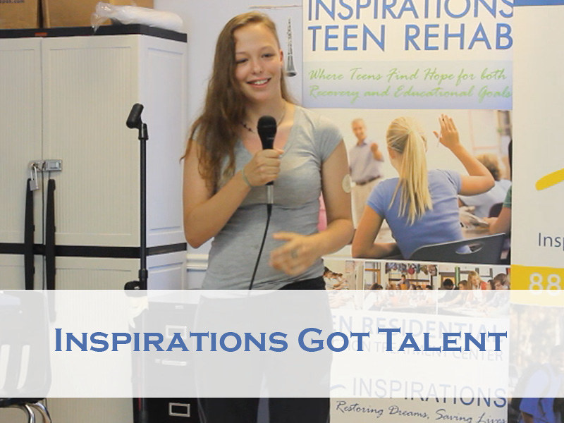 Adolescent drug rehab hosts Inspirations got talent show thumbnail