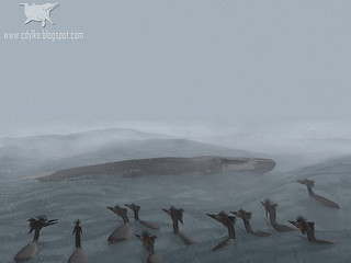Stormy Cretaceous Sea 2012 | by Craig T Dylke
