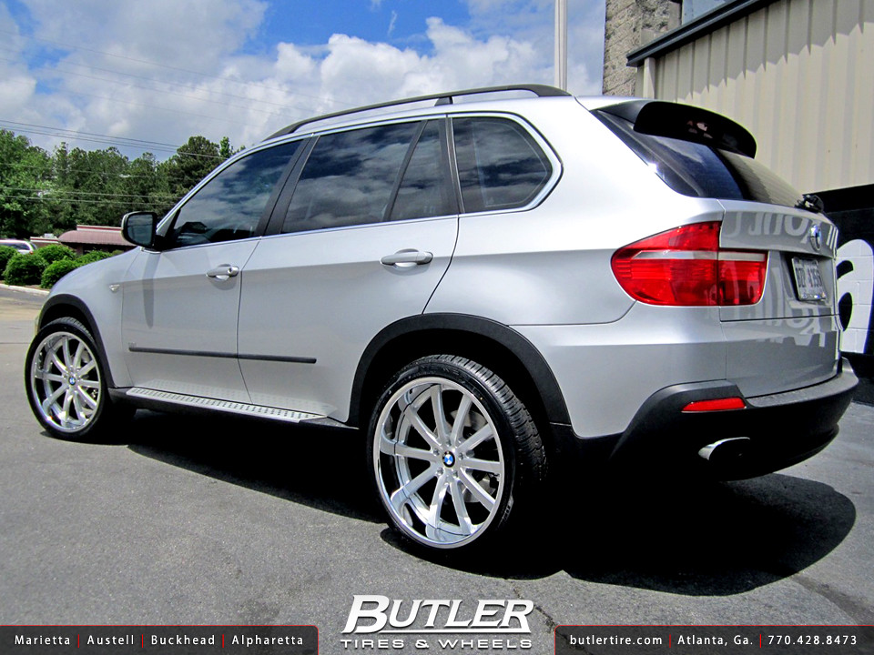 Bmw X5 With 22in Dub Type 39 Wheels Additional Picture