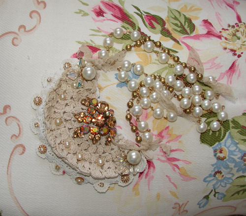 Vintage Rhinestone Necklace | by Treasured Heirlooms