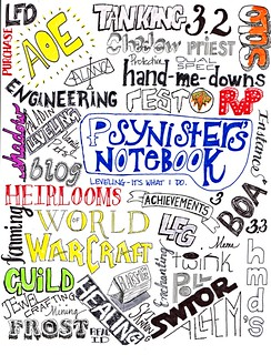 Psynister's Notebook Tag Cloud | by ItsLilpeanut