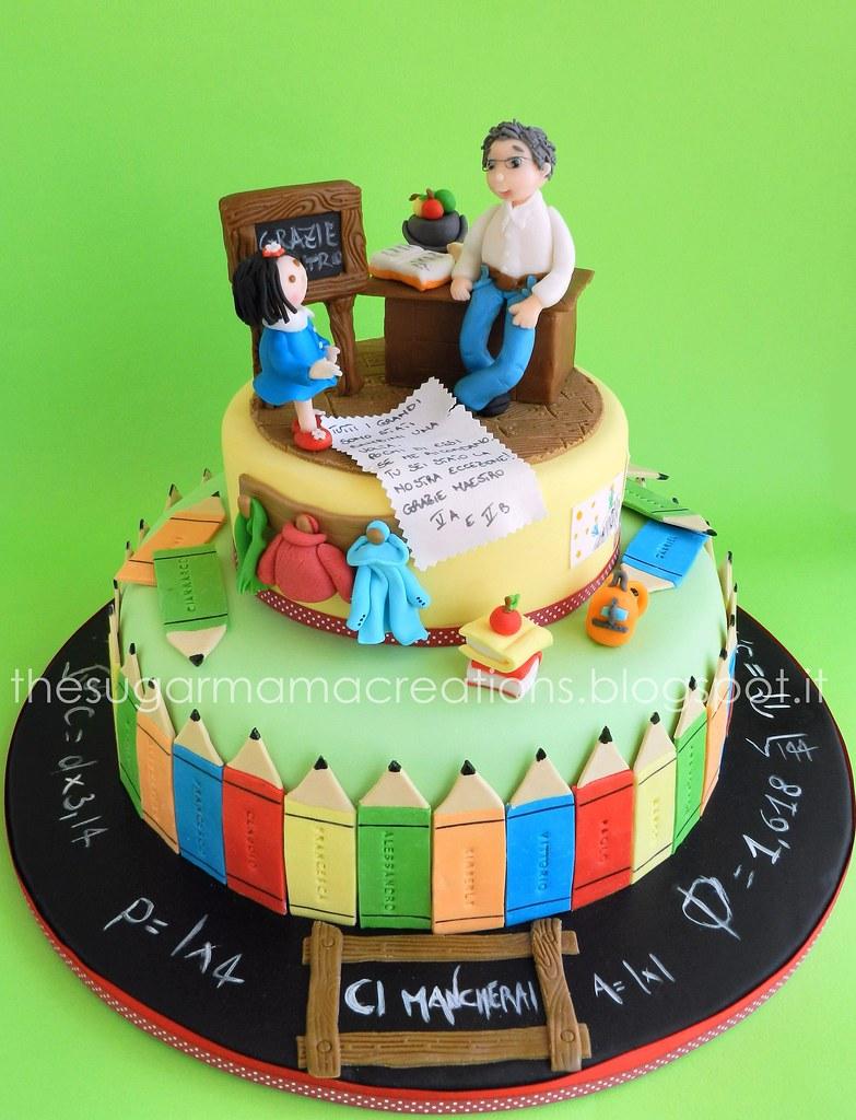 Teacher Birthday Cake Ideas