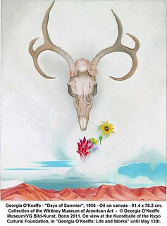 "Georgia O'Keeffe - ""Days of Summer"", 1936 