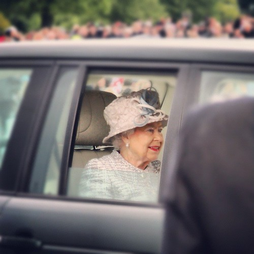 oh it's only THE QUEEN! | by .sweeney