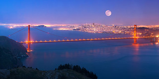 San Francisco Super Moon | by Stephen Oachs (ApertureAcademy.com)