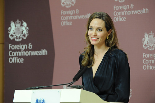 Angelina Jolie | by Foreign and Commonwealth Office