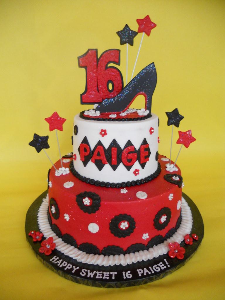 Christian Louboutin Sweet 16 Birthday Cake Amy Stella Flickr