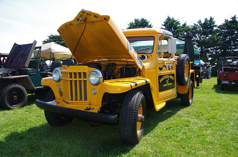 1956 Willys Motor Company Jeep Pickup Truck The Great Will Flickr