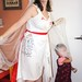 Finished: Doctors Without Borders T-shirt wedding dress costume