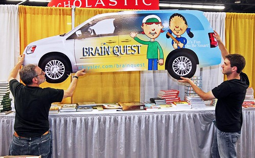 Brain Quest display | by ALA - The American Library Association