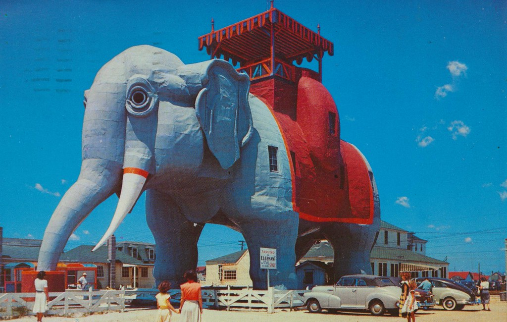 Elephant Building In New Jersey