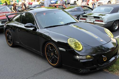 Black 997 Carrera With Porsche Tequipment Aerokit Cup Flickr
