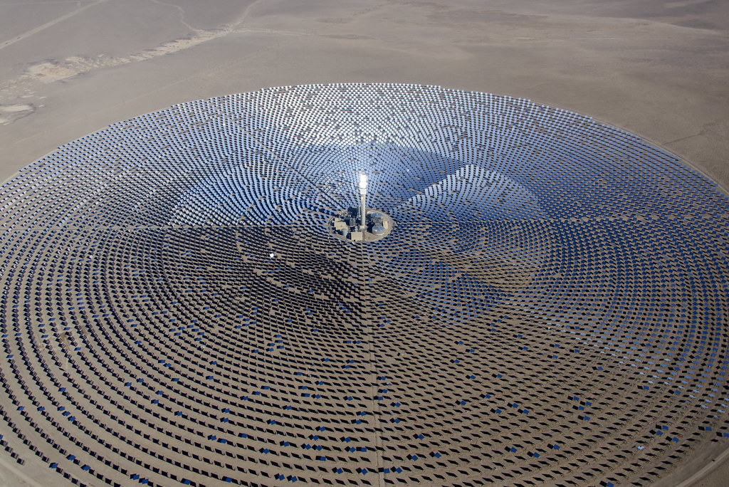 Renewable Energy Nevada Crescent Dunes If You Care About
