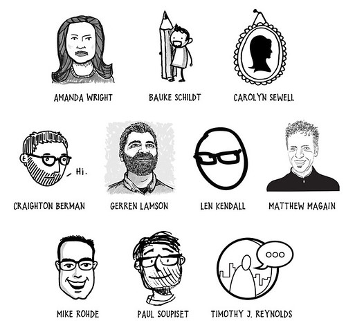 Sketchnotes 2011 – Guest contributors | by evalottchen