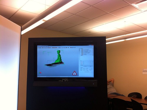 L getting modeled in 3D at Capstone | by annamaren