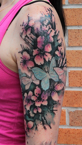 Blossom_arm_existing_butterflies_1 | by Gene Coffey