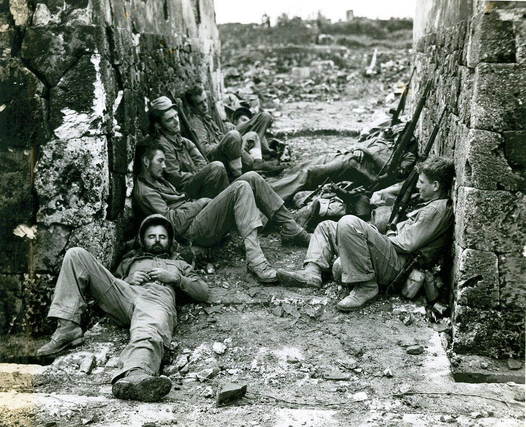 Okinawa, 29 May 1945 | The caption on this photograph ...
