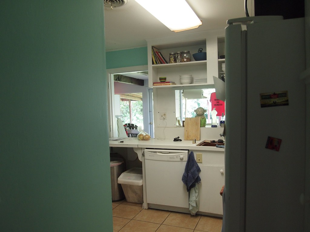 Replace Ugly Kitchen Fluorescent Light