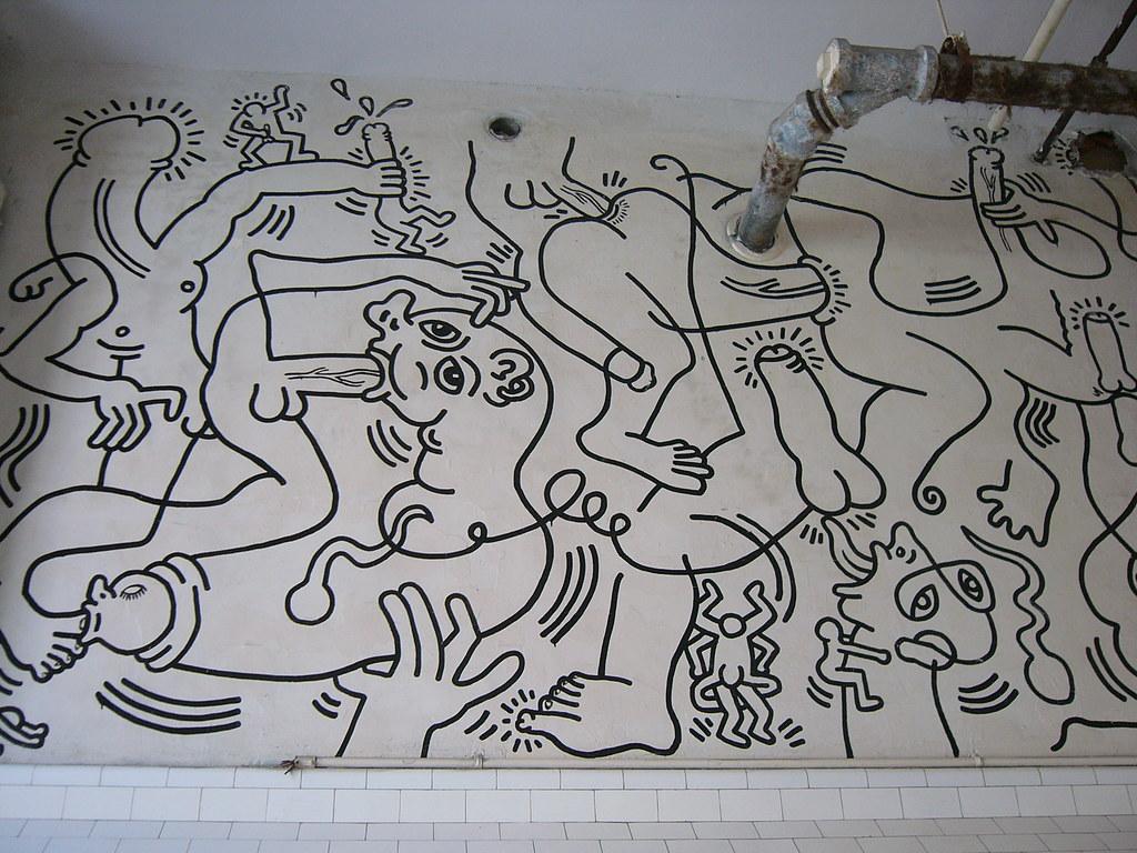 Keith Haring Bathroom Glbt Community Center Nyc Flickr