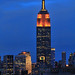 Empire State Building in Orange & Yellow for James Beard Foundation #2