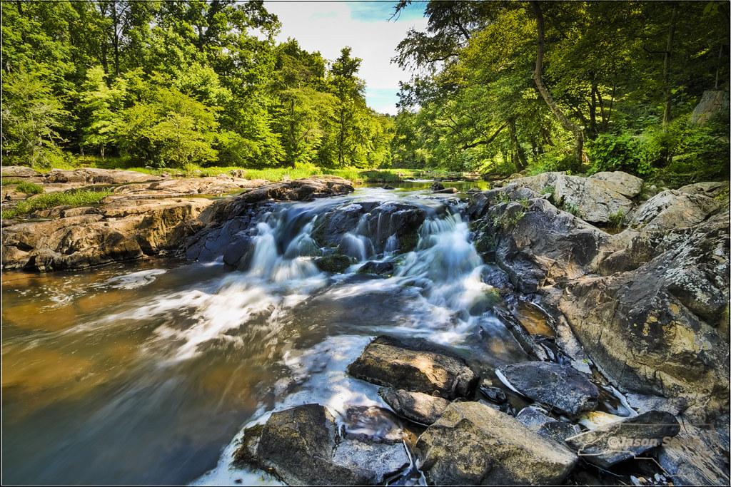 Eno River Falls - Durham, North Carolina   Jason Sents ...