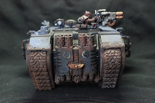 Ultramarine landraider redeemer | by Ichiban Painting