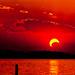 2012 Annular Eclipse Sunset