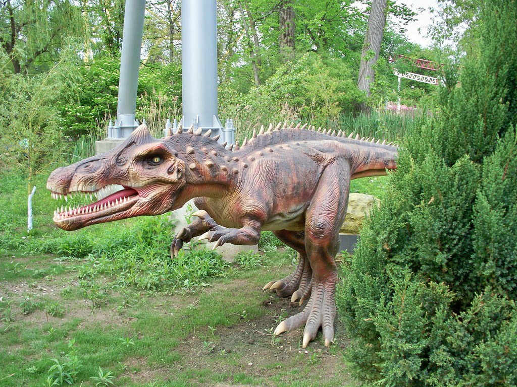 R Dinosaurs Alive Cedar Point - Dinosaur...