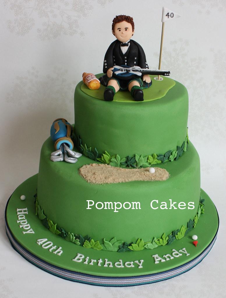 Golf Grooms Cake Ideas