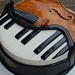 Piano Cello Cake