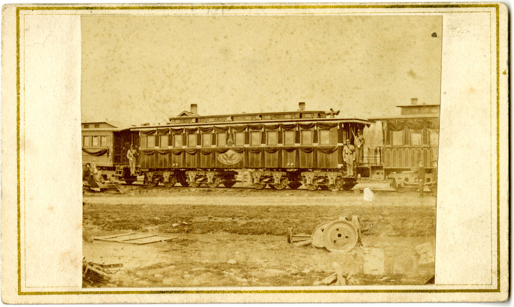 Abraham Lincoln S Funeral Train Car In Columbus Ohio Flickr