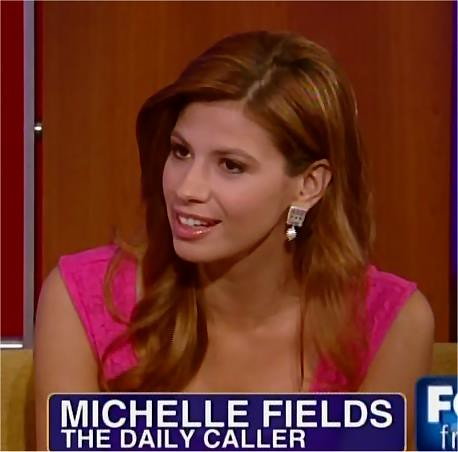 Michelle Fields of the Daily Caller | Michelle Fields of ... Daily Caller