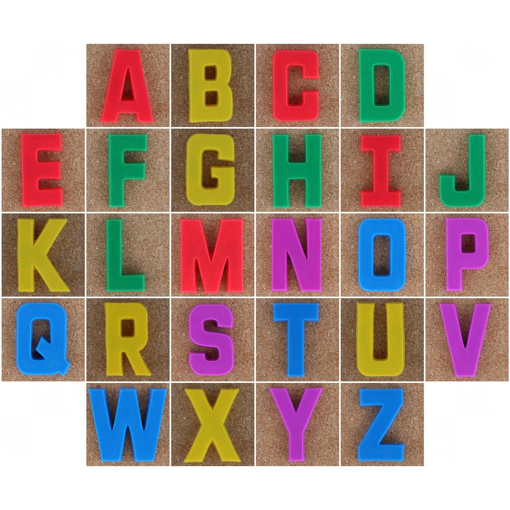 Alphabet Letter Magnetic Uppercast