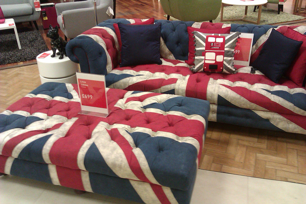 ... Union Jack Sofa in Kendals | by dullhunk
