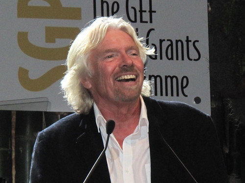 Richard Branson | by UNclimatechange