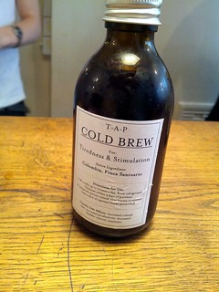 Cold Brew in a bottle, cafe, Fitrovia, London, UK | by gruntzooki