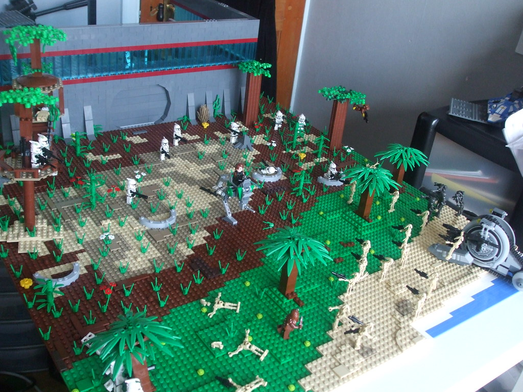 Star Wars Clone Base Lego Star Wars Clone Base