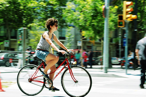 bicycle friendly | by Barcelona Cycle Chic