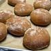(17) Freshly baked Farmhouse 100% Whole Wheat burger buns - FarmgirlFare.com