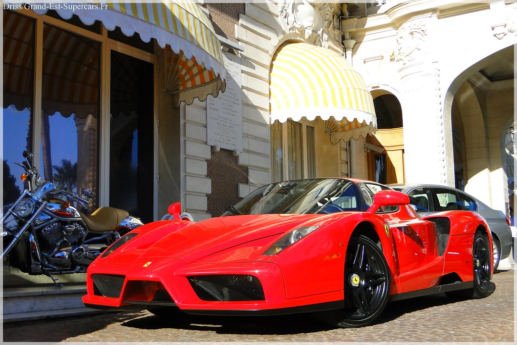 ferrari enzo black rims in cannes by g e supercars - Ferrari Enzo Black Rims
