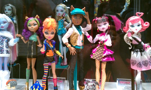 SDCC 2012: Monster High | by xClaribelx
