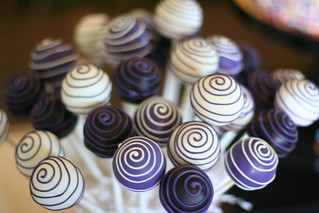 Swirly Cake Pops | by Sweet Lauren Cakes