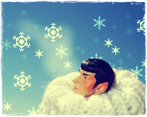 Spock in Arctic | by kirk loves spock