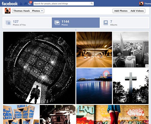 New Facebook Photos Layout | by Thomas Hawk