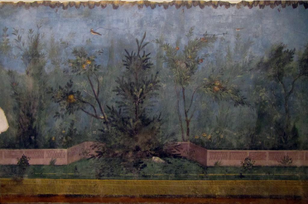 painted garden villa of livia