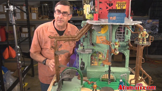 Tmnt secret sewer lair playset toy flickr photo sharing